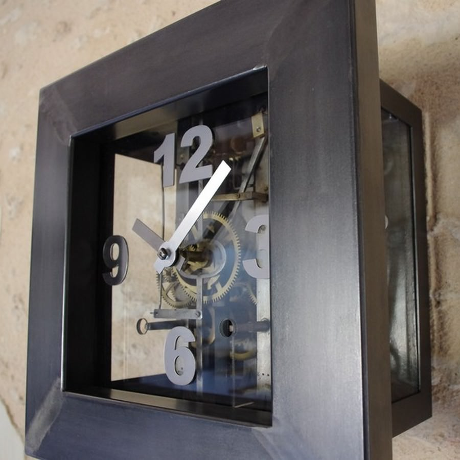 horloge comtoise sur mesure avec ancien m canisme heure cr ation. Black Bedroom Furniture Sets. Home Design Ideas