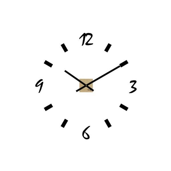 Horloge horloge g ante design station couleur multicolo - Horloge murale geante design ...