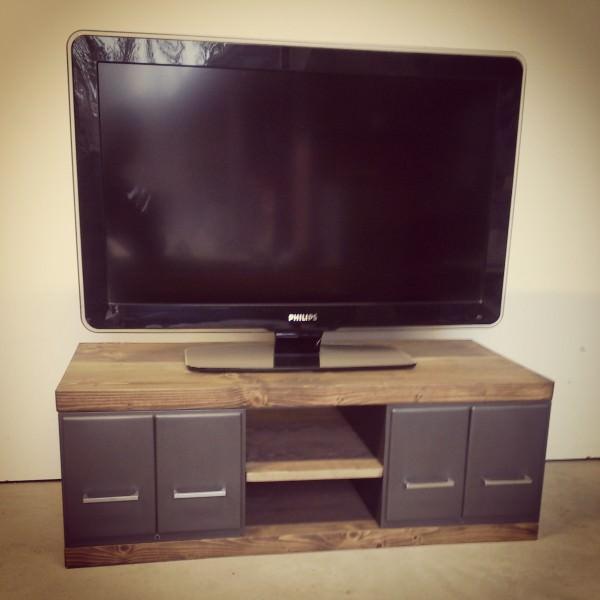 meuble TV 90 cm de large Meuble Télé