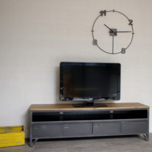Meuble tv d angle style industriel