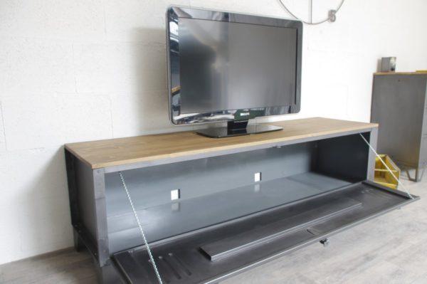 un meuble tv vestiaire porte large 2