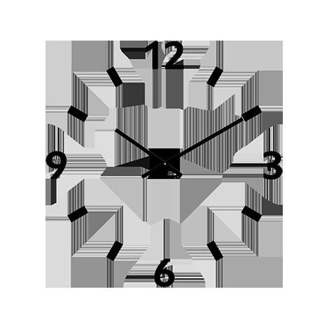 Horloge Murale Design Silver 3D  AliExpress Francophone