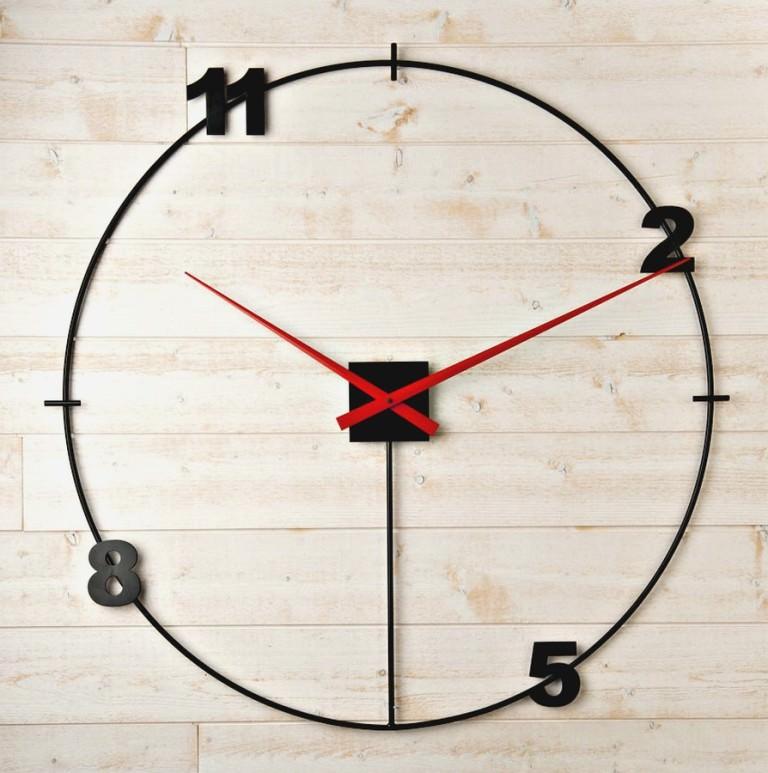 horloge design geante