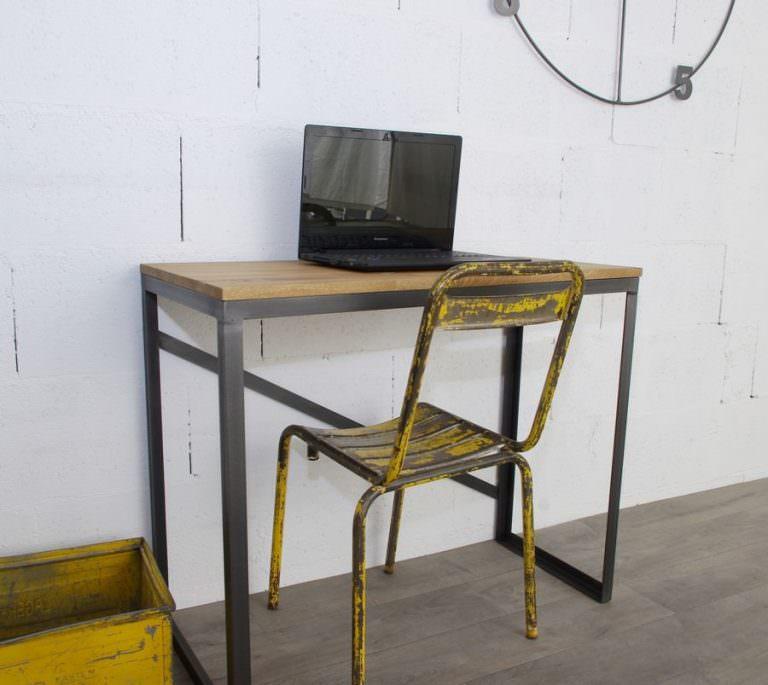 bureau style industriel sur mesure