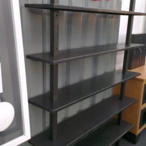 Étagère bibliothèque industrielle