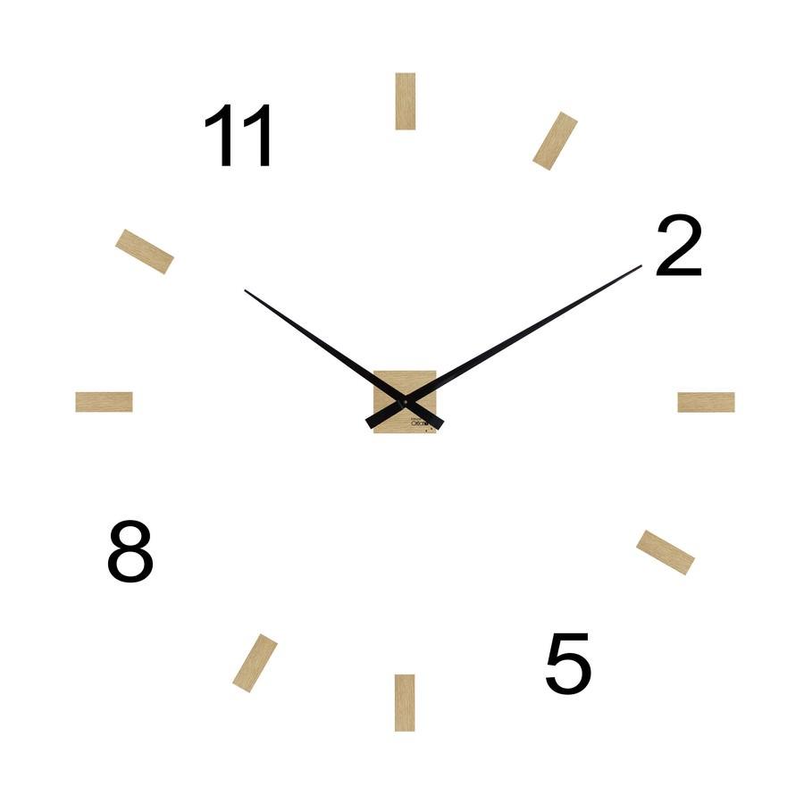 Horloge design g ante minima aria 11258 personnalisable murale for Grande pendule murale design