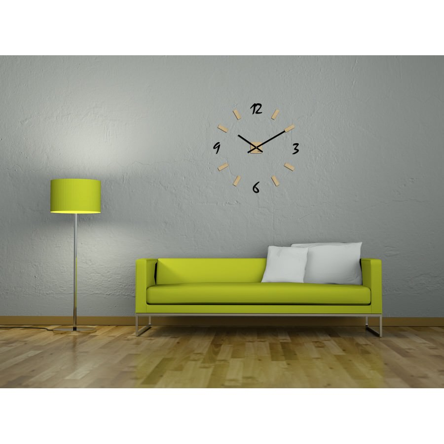 horloge murale g ante personnalisable minimaliste. Black Bedroom Furniture Sets. Home Design Ideas