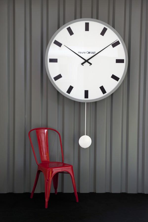 horloge gare lumineuse comtoise