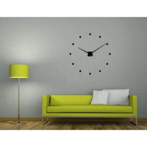 horloge geante cache ronds plexi