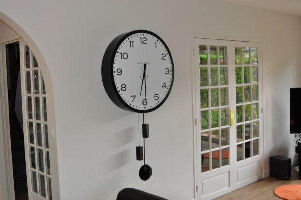 horloge géante comtoise