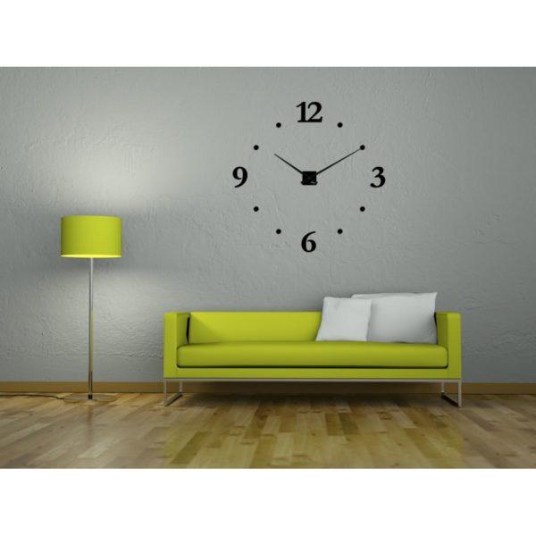 horloge geante garam minima points plexi grands chiffres 17cm