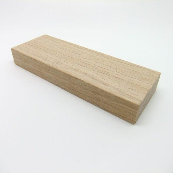 index en chêne pour horloge design géante