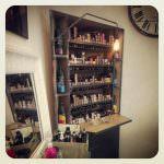 bar a couleur mobilier de salon de coiffure