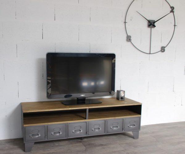 meuble tv métal