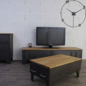 mobilier industriel artisanal heure creation