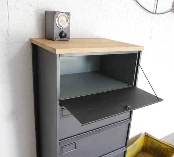 meuble à clapets administratifs métalliques