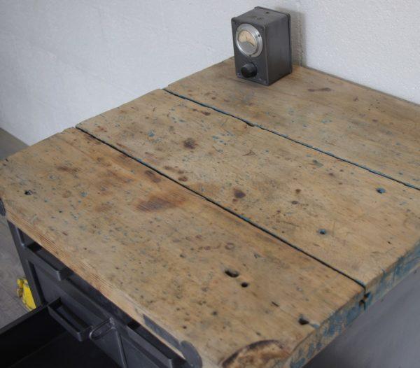 mobilier bois et métal