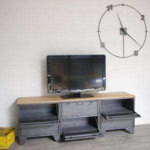 meuble-tv-indus-6-clapets-militaires-chêne-portes-basculantes-2