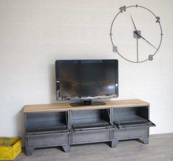 meuble-tv-indus-6-clapets-portes-basculantes