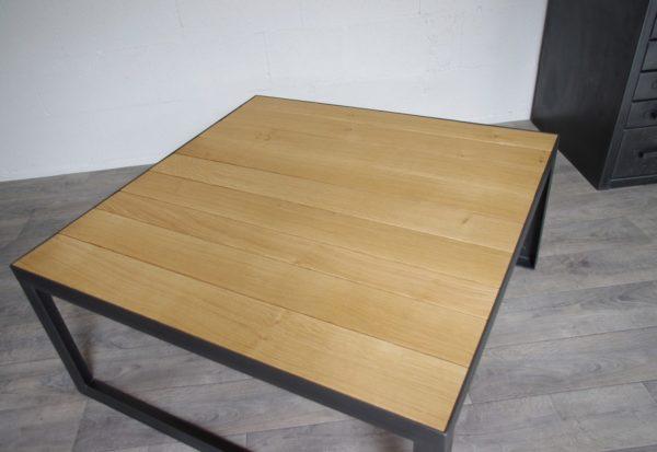 table de salon industrielle