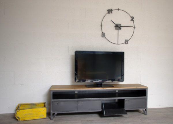 meuble tv industriel loft
