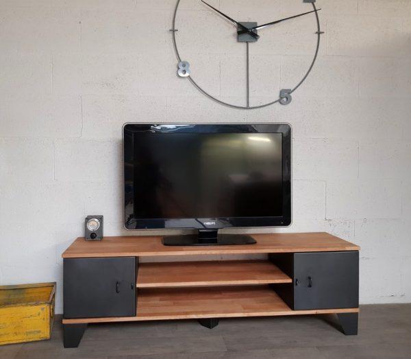 meuble tv style industriel new-york
