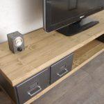 meuble style industriel tiroirs indus