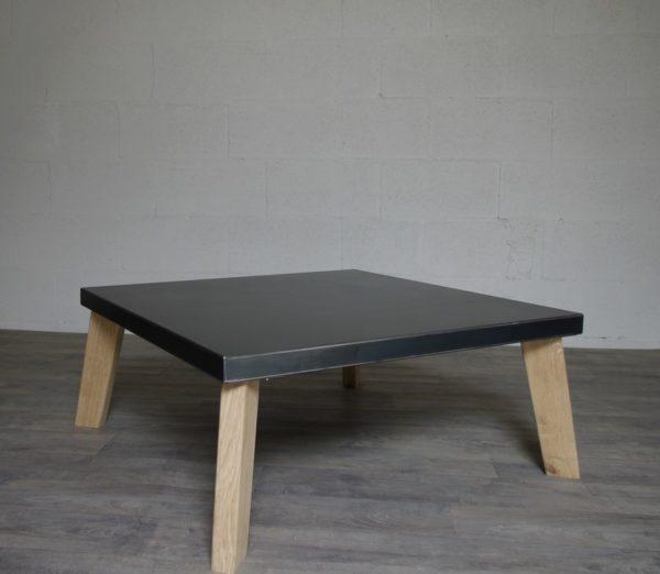 table basse en acier