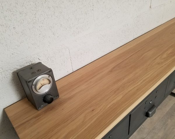 console industrielle à 5 tiroirs