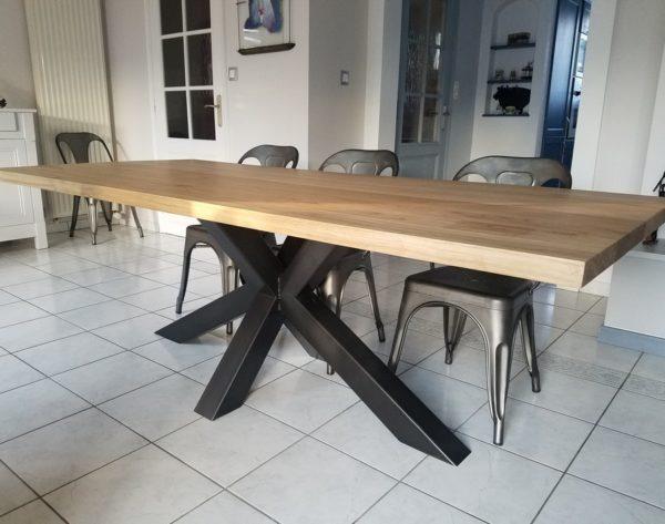table de repas industrielle