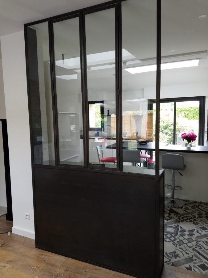 verri re meuble de rangement sur mesure heure cr ation. Black Bedroom Furniture Sets. Home Design Ideas