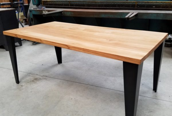 table de repas industrielle artisanale