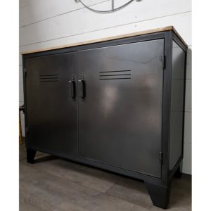 buffet metallique style industriel