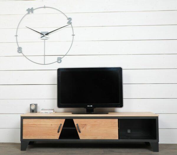 meuble tv style industriel sur mesure